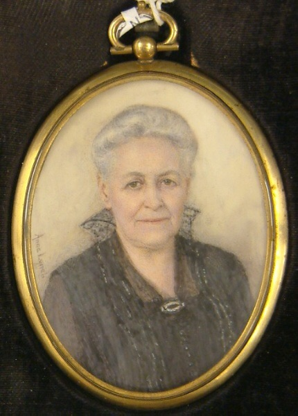 Anna Lynch (American 1865-1946), An Elderly Lady, ca. 1900. Watercolor on ivory, 3 1/4 x 2 7/16 inches (8.3 x 6.2 cm), Cincinnati Art Museum, Gift of Mr. & Mrs. Charles Fleischmann III, 2004.492.